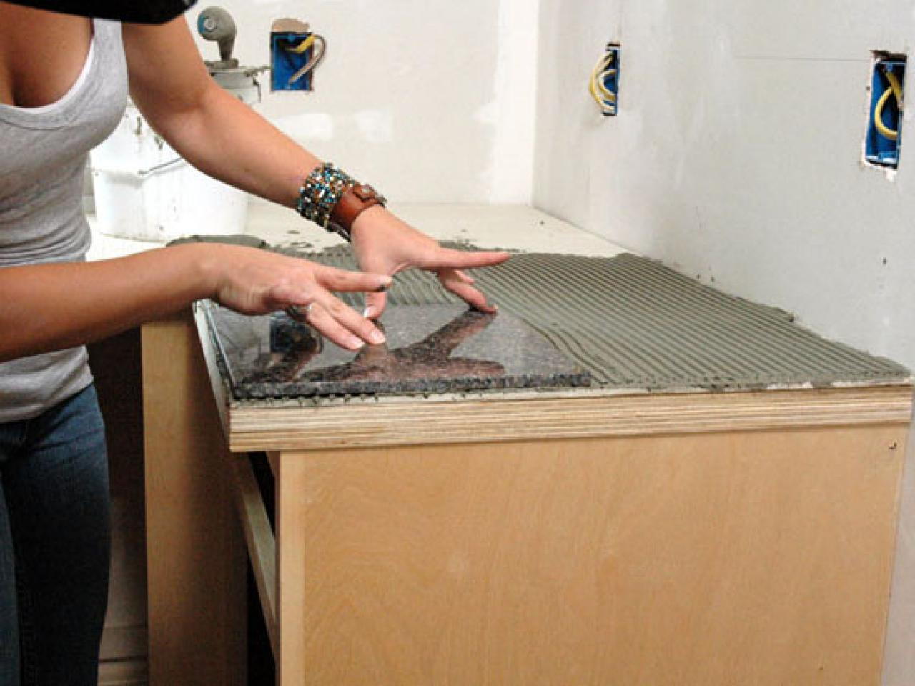 Tile Counter Top | Caroline Springs Self Storage