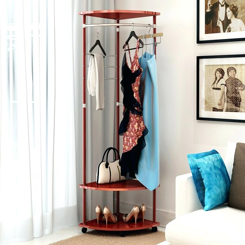 Diy Clothes Rack Cheap Wardrobe Racks Corner Clothes Rack